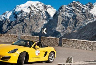 Benessere sulle Dolomiti a bordo di un bolide da corsa