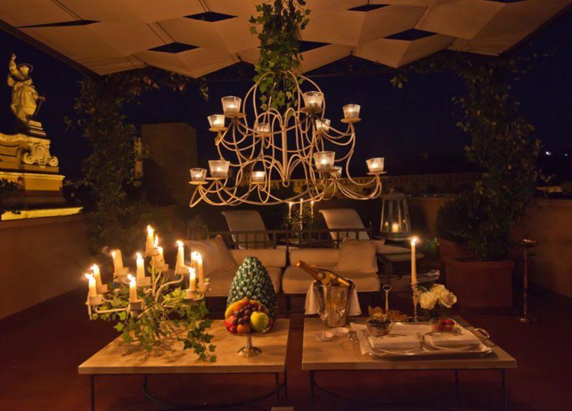 Solstizio dei sensi a cena al Grand Hotel Majestic