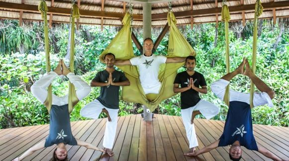 Yoga antigravitazionale