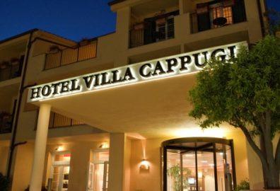 L'Hotel Villa Cappugi di Pistoia