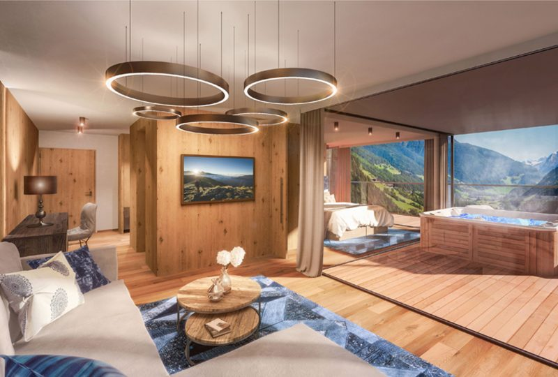 Suite con vista e whirlpool